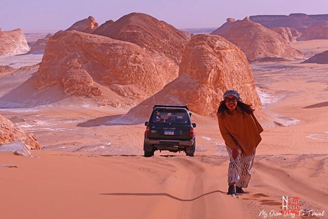 Bahariya Oasis jeep safari tour