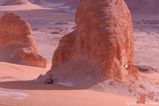 Beautiful Valley of Agabat in the Bahariya Oasis