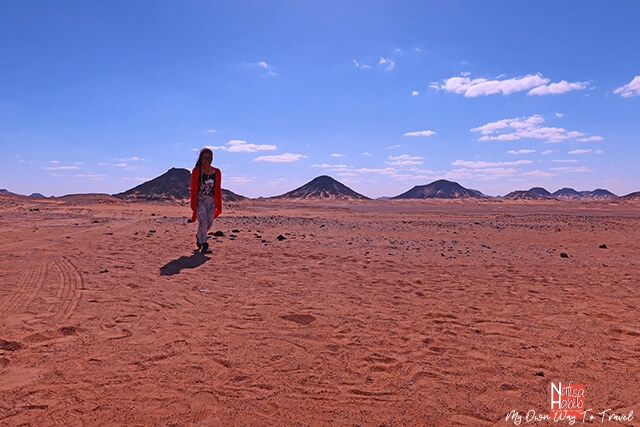 Black Desert in the Bahariya Oasis