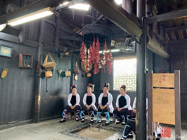 Chinese tribals at Shangri-La Theme Park