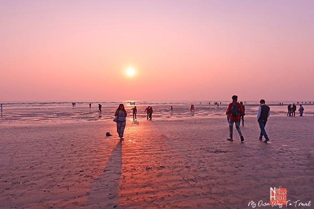Cox's Bazar Beach sunset photography with Canon PowerShot G7 X Mark III