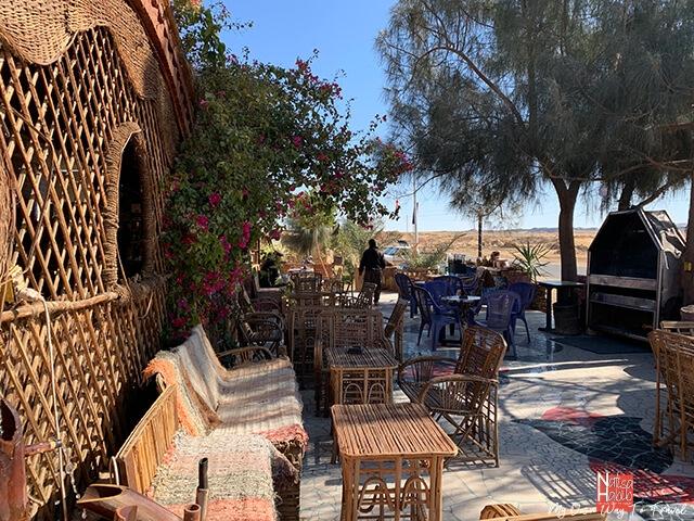 Local restaurant in the oasis of Bahariya