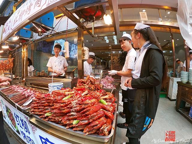 Seafood from X'ian Muslim Quarter