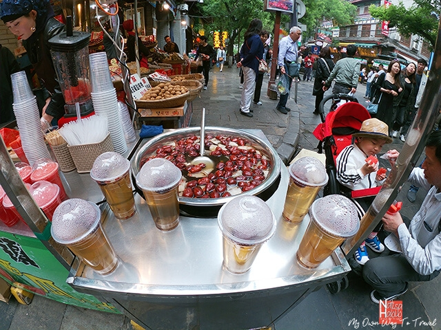 Street food from Xi'an Muslim Street
