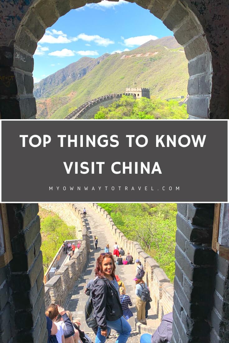 Things to know about visiting China for the first time