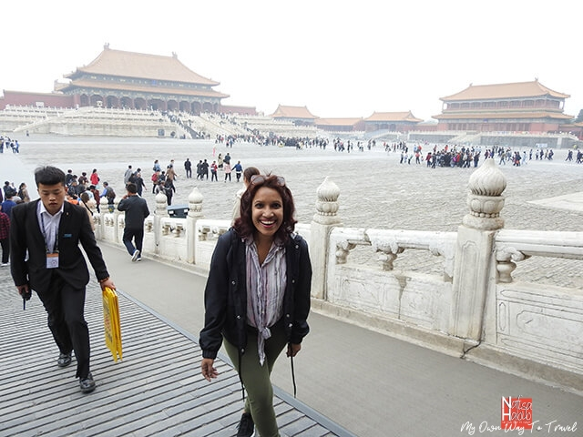 Walking tour in Forbidden City