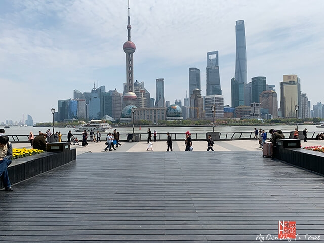 Huangpu Riverside Walkway - The Bund