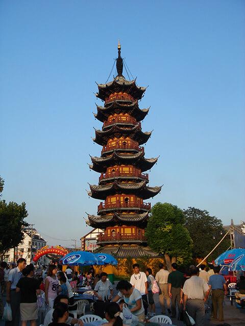 Longhua Pagoda in Shanghai