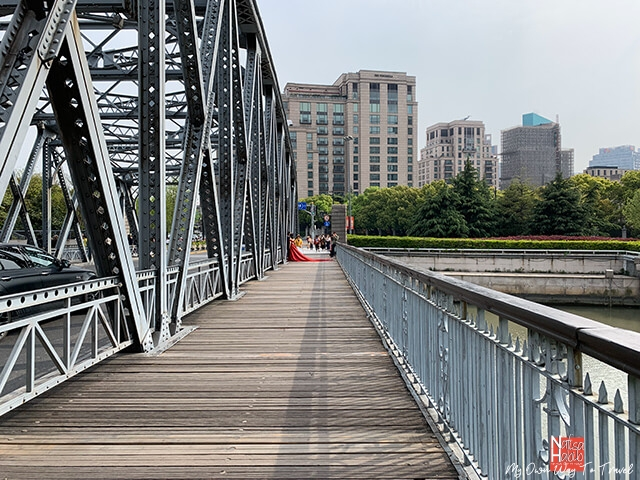 The iconic Waibaidu Bridge