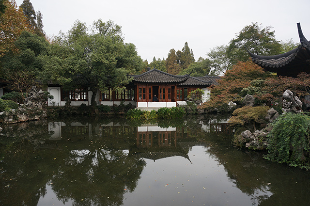 Historic Guozhuang Garden in the West Lake