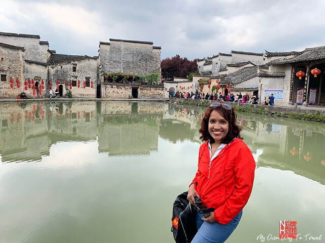 Moon Pond of the Hongcun Village