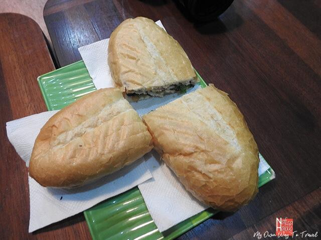 Vietnamese food Banh Mi