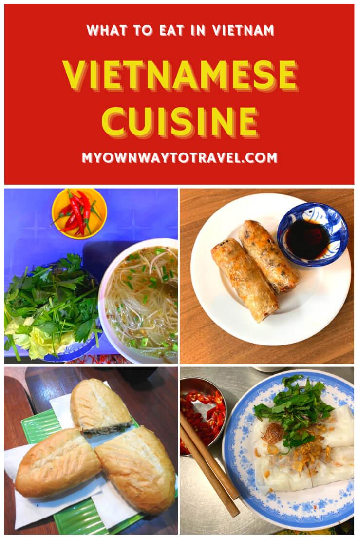 What to eat in Vietnam - Vietnamese cuisine