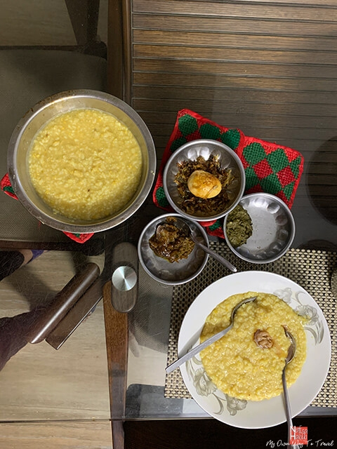 Bangladeshi popular cuisine Khichuri