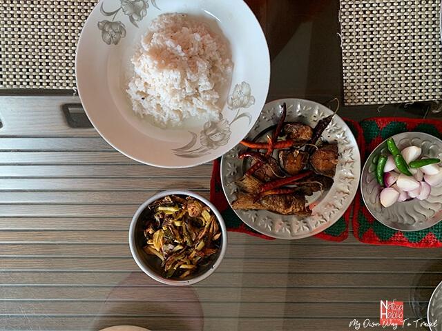 Bengali dish Panta Ilish