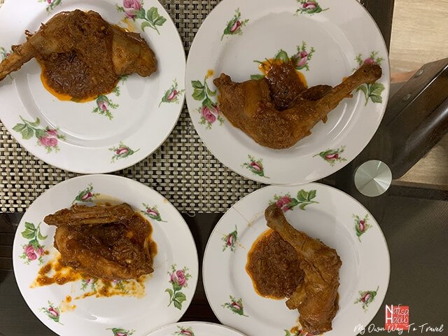 Chicken Roasts to serve during Eid Festival