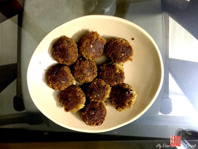 Shami Kebabs ready to serve