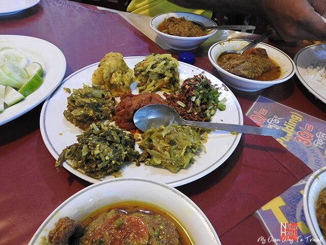 Various bhorta served at Cox's Bazar Sea Beach restaurant