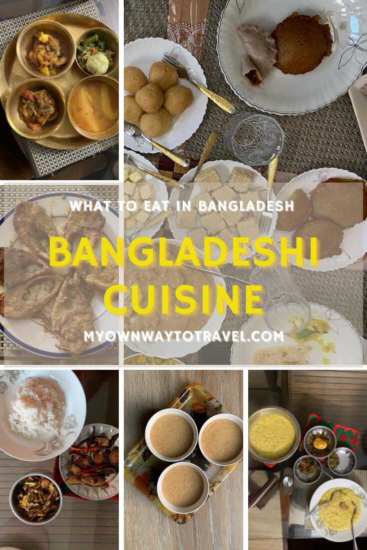 What to eat in Bangladesh - Bangladeshi cuisine