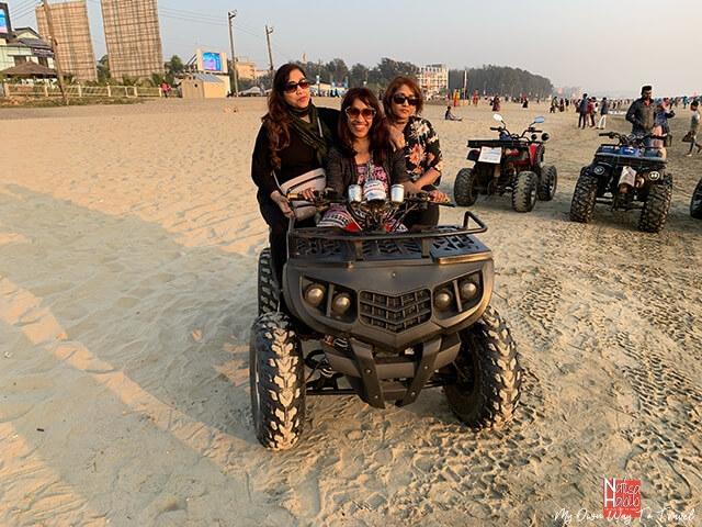 Cox's Bazar Beach scooter ride