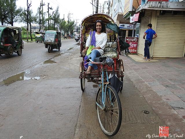 Cox's Bazar city tour by rickshaw