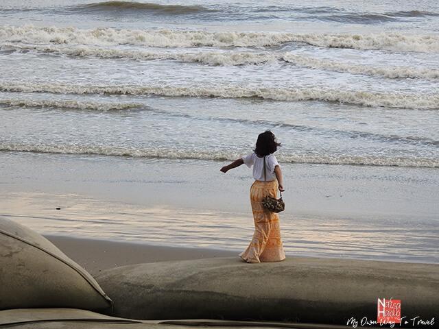 Himchari Beach in Cox's Bazar