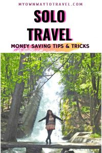 How to save money traveling alone