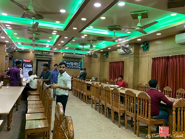 Poushee Restaurant at Cox's Bazar - Bangladeshi cuisine